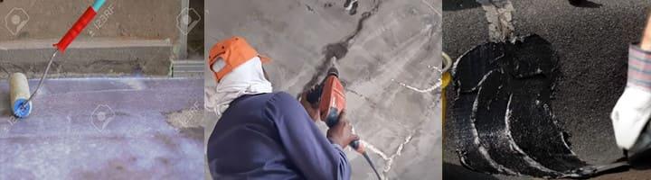 Sàn bê tông bị thấm nước | Nguyên nhân | Cách xử lý trần nhà bị thấm